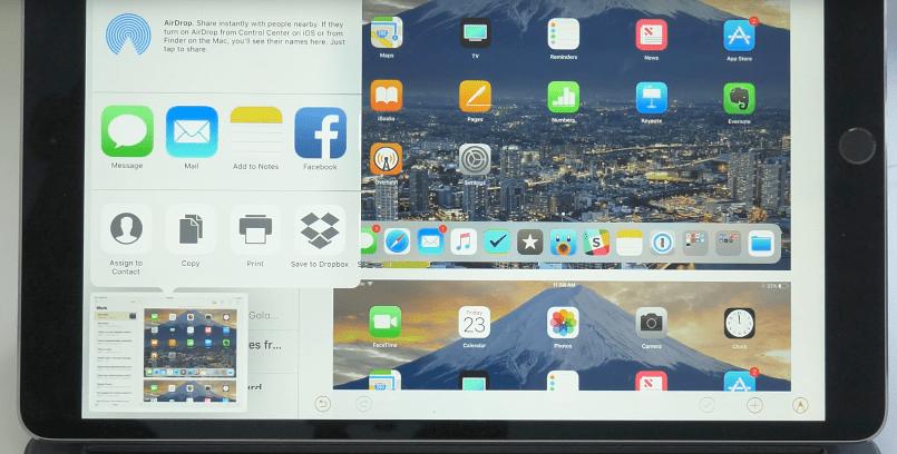 iOS 11 скриншоты
