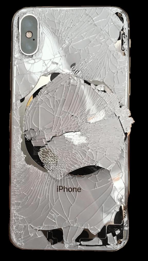 Разбитый iPhone X