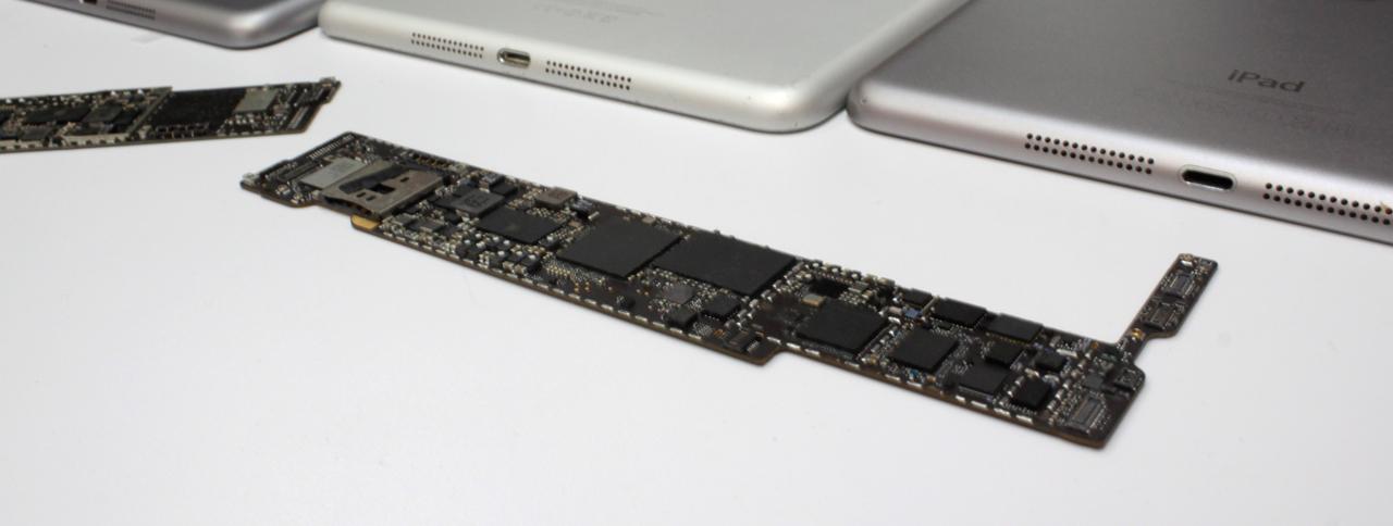 Ремонт залитых iPad mini