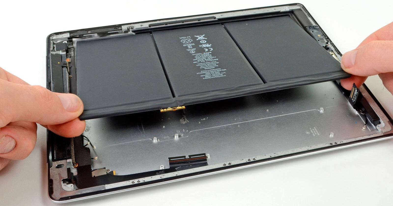 Замена аккумулятора iPad, Срочная замена батареи на айпаде
