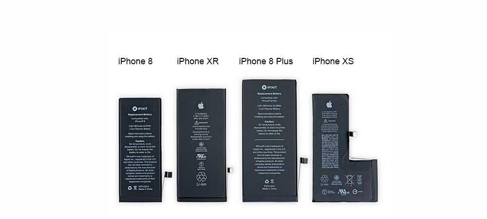 Замена батареи iPhone XR
