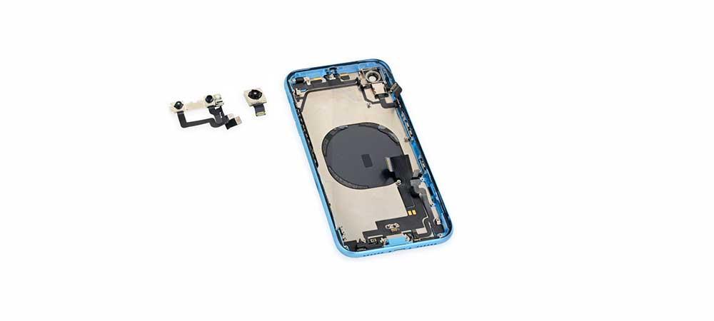 Замена камер передней и задней iPhone XR